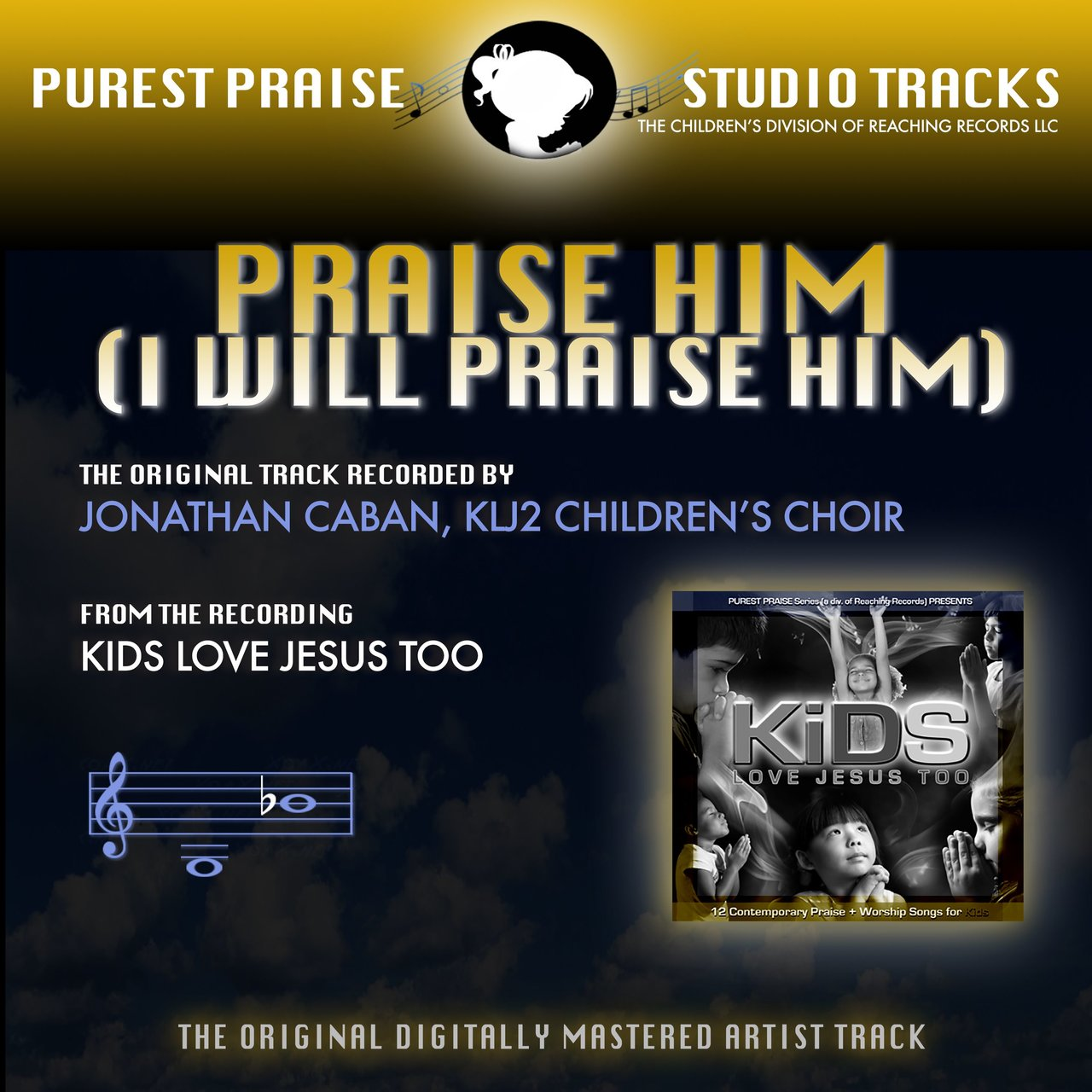 Praise Him, I Will Praise Him (MP3 Instrumental)