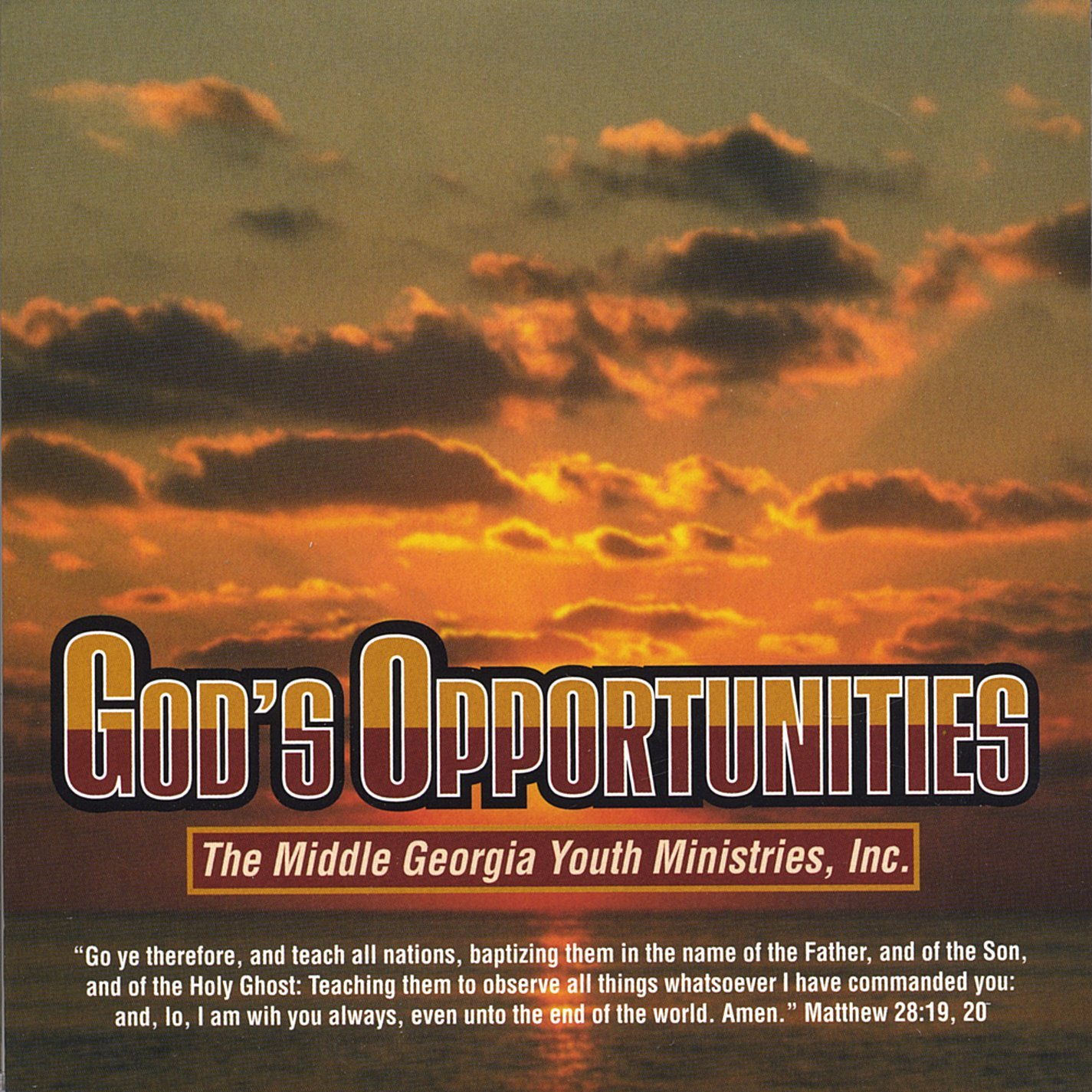 Middle GA Youth Ministries : God's Opportunities (MP3)