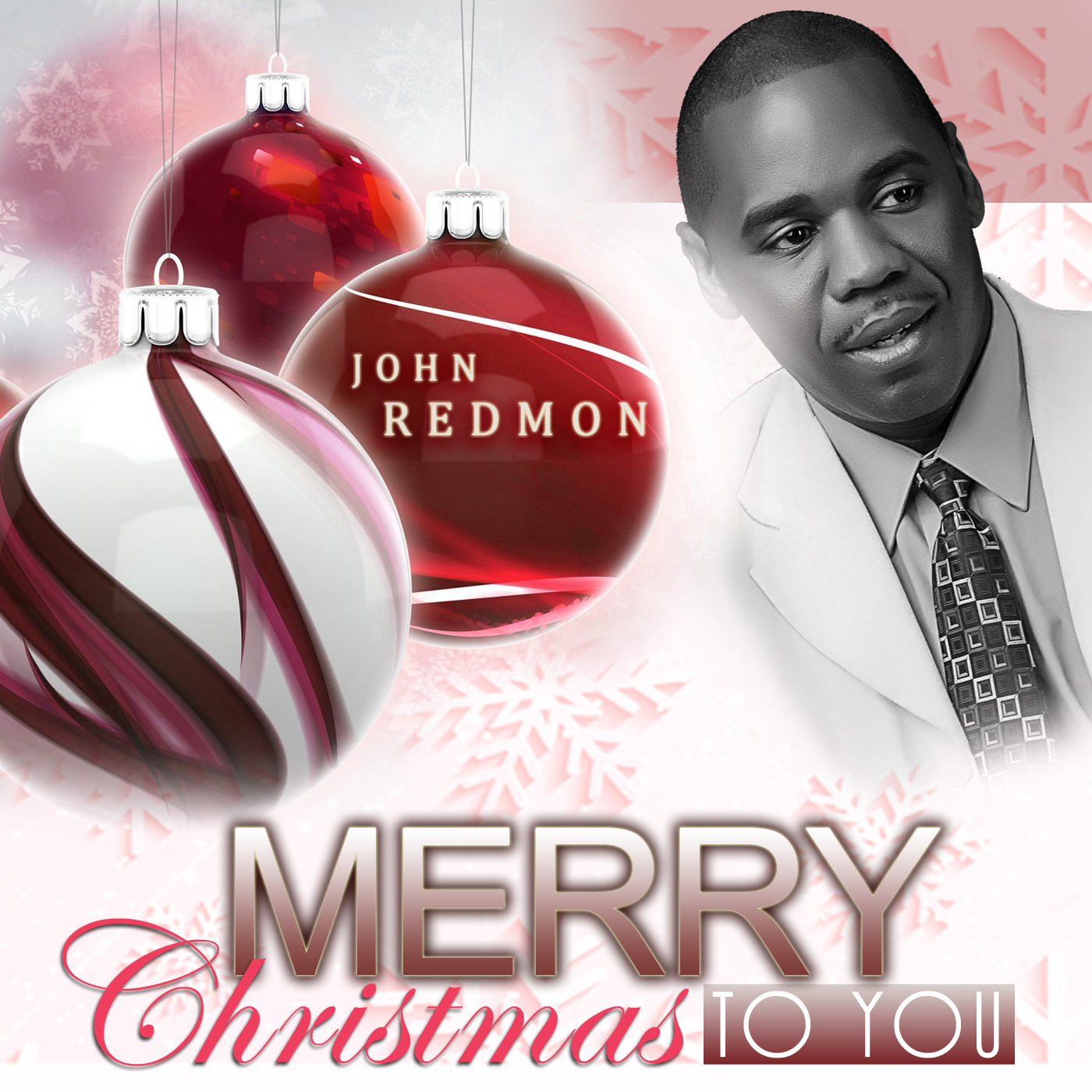 John Redmon [The Piano Series] : Merry Christmas To You (CD)