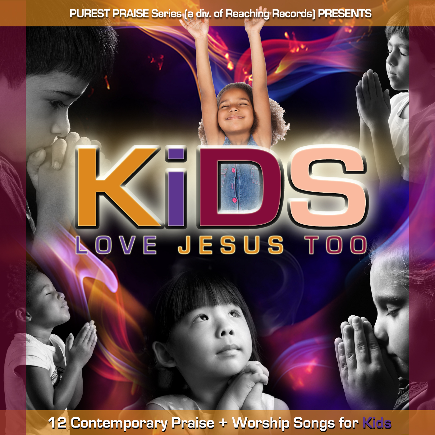 KLJ2 Children's Choir : Kids Love Jesus Too (CD)