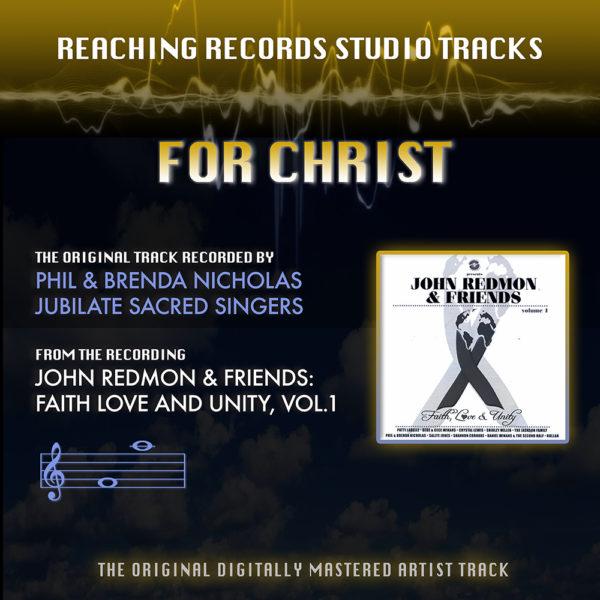 Accompaniment Track For Christ Phil and Brenda Nicholas