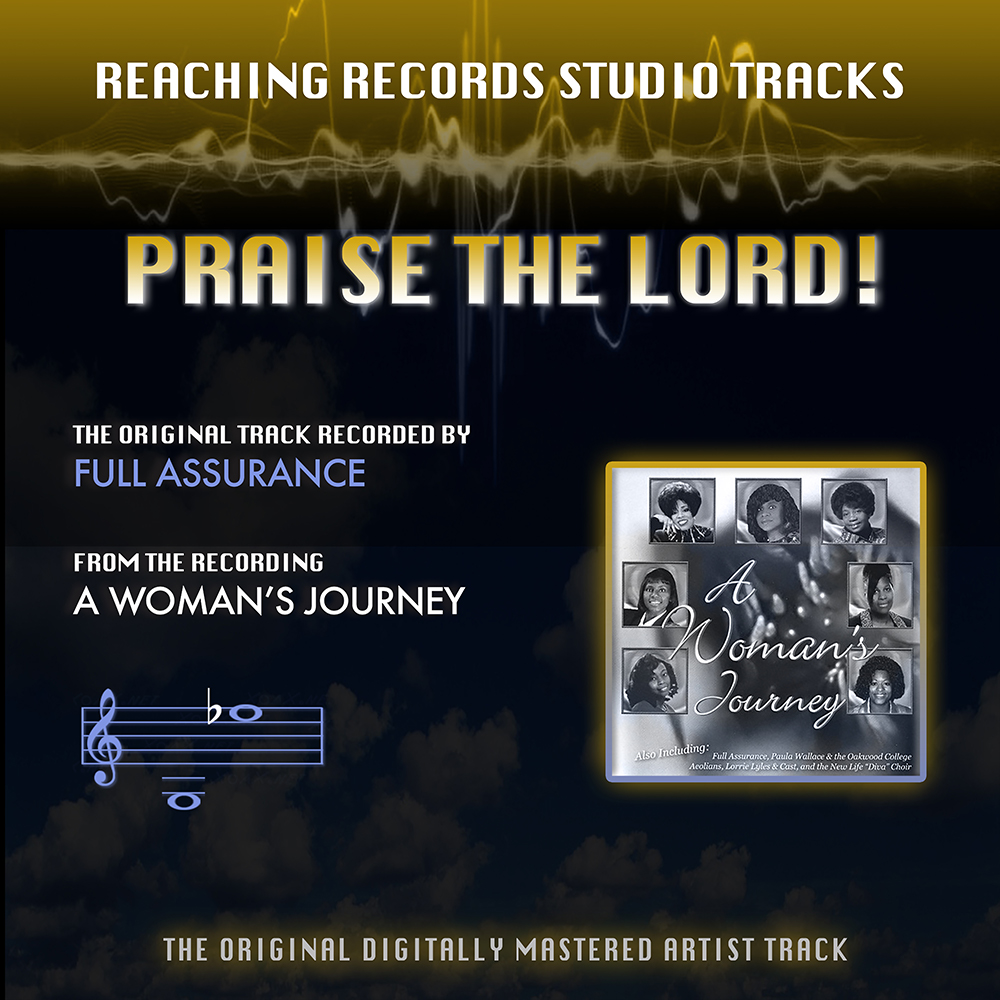 Praise the Lord Instrumental Track Full Assurance