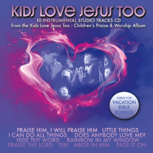 Kids Love Jesus Too Instrumental Tracks (CD)